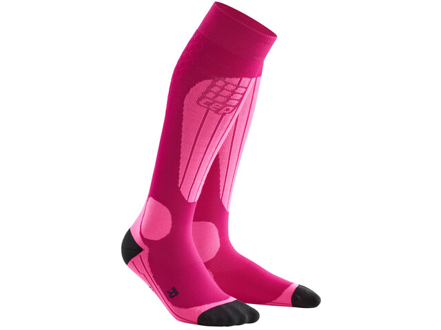 cep Thermo Calcetines Mujer, pink/flash pink